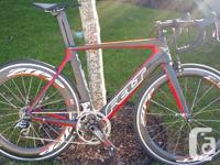 Upgraded this bike with sram red components, quarq