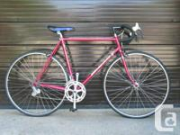 I'm selling an awesome 56cm vintage Bianchi road bike