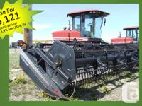 2952 2002 Mac Don 2952, Windrowers, 500/70R24,