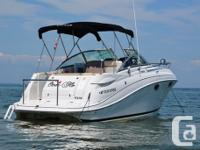 Just Listed! Exceptional Condition 2008 Four Winns 278