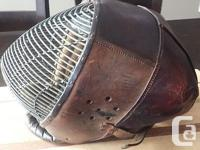 Very unique and uncommon sabre training mask from the for sale  British Columbia