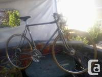 this bike has actually been refurbished with the