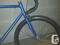 I bought this bike a few months ago as a stepping stone