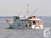 LADY GALADRIEL is a Glen-L Marine Argosy 42 design and