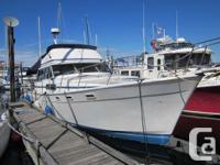 1984 Command bridge cruiser 3870 Bayliner. With a 2002