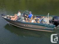 2016 Lund 1875 Crossover XSGreat Fishing and Sking Boat
