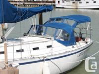 Well Equipped Freshwater Cruising Yacht 1981 CS 36T