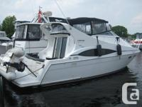 This 1999 Carver 350 Mariner has been enjoyed in the