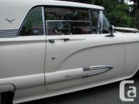 Make Ford Model Thunderbird Year 1959 Colour white kms