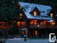 Classic Log Cabin Available for Nightly-Rental. *
