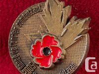 CANADIAN MILITARY VETERANS PIN - YEAR OF THE VETERAN