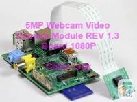5MP Webcam Video Camera Module REV 1.3 Board 1080P