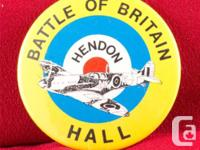 RAF MUSEUM HENDON: BATTLE OF BRITAIN HALL SOUVENIER PIN