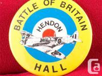 RAF MUSEUM HENDON: BATTLE OF BRITAIN HALL SOUVENIER PIN