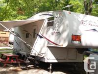 We're selling our trailer! It is in superb condition,