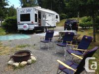 28 FT Jazz 5th Wheel for rent. July & August Includes,