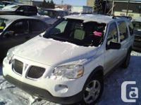 Make Pontiac Model Montana Year 2005 Colour white kms