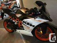 A Sports Bike in its Purest Form. Automatic starter,