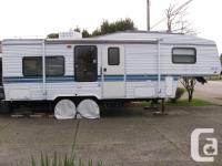 RV is in attractive condition. Sleeps 6, dinette,sofa