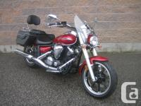 2010 Yamaha V-Star 950Power, handling, comfort and