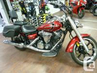 Very clean bike, nice saddlebags, very customizable