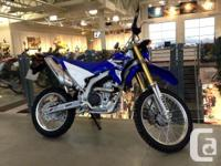 WR250Rnspired by our legendary WR off-road series, the