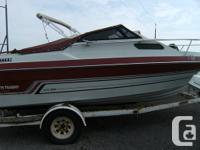 1988 March Twain, boat has a V6 Mercruiser , boat has a