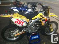 2011 RMZ 450 - New Motor The 2011 RM-Z450, a