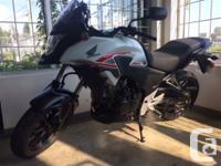 Venez admirer la Honda CB500X 2015 et sa nouvelle