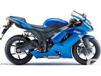 Low mileage!Kawasaki's 2008 Ninja ZX-6R delivers