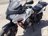 2012 Honda CBF600You could almost ride the Honda CBF600
