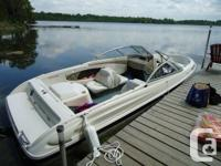 Mercruiser 3.0 L 130 horsepower engine Bayliner Trailer