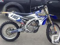 we have selection of 450 and 250 from our race season