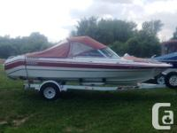 1993 Grew 196 BRJust traded, trailer and covers