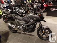 Sporty Adventure with low seatThe NC750X may be the