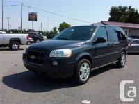 this 2008 Chev Uplander has been taken care of to the