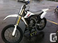 2012 Yamaha YZ450F The revolutionary YZ450F is the most