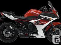SAVE $1000.00!!! 2014 YAMAHA FZ6RThe FZ6R has a special