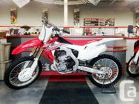 Honda Demo Bike Clean Low HoursSale Price does include