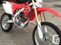 2015 HONDA CRF250XWhen off-road competition shifts away