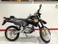 New DRZ400S .The DR-Z400S is ideal for taking a ride
