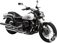 IN STOCK!The V-Star 650 Custom features lots of chrome,