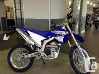 New WR250R .Inspired by our legendary WR off-road