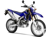 WR250R .Inspired by our legendary WR off-road series,