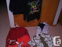 6 boys clothing items in size 6-7 for one price or can
