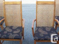 These Chairs are in Mint shape. Solid and no holes in