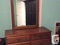 I have for sale a 6 drawer cabinet with mirror in