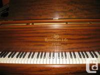 RARE: 6' Heintzmann grand made in Canada 1928