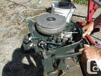 We have a 71 -6HP- Johnson boat motor for sale. Very