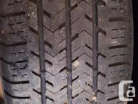 6 used Michelin Agilis tires. 4 of the tires are